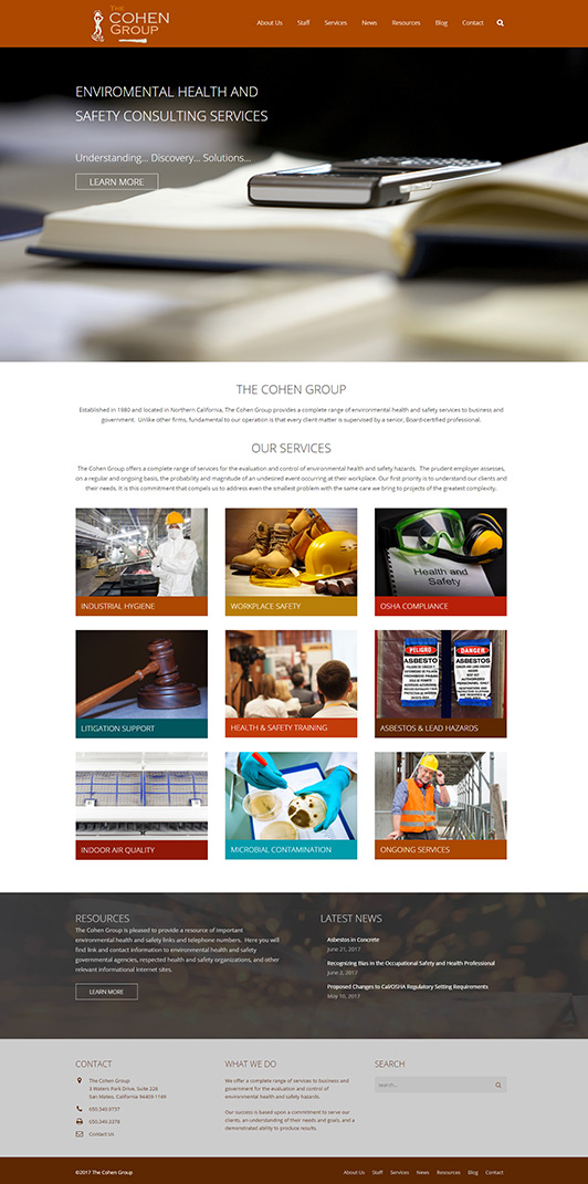 Web Design - The Cohen Group