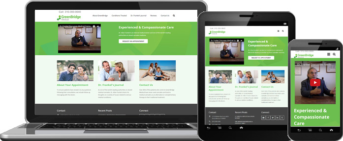 Responsive Web Design - GreenBridge Medical