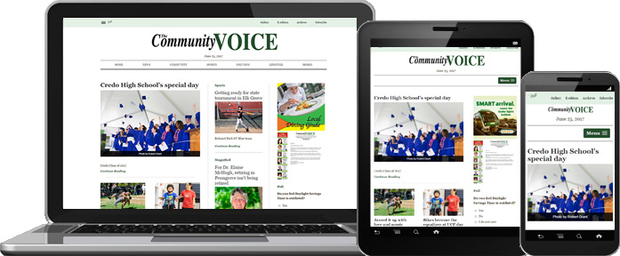 Responsive Web Design - Community Voice