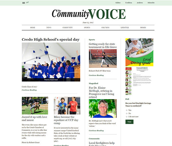 The Community Voice